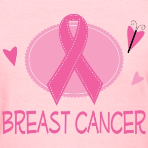 Breast Cancer Pink Ribbon Women's T-Shirts - Women's T-Shirt