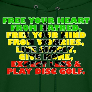 Free Your Mind (Rasta) - Men's Hoodie