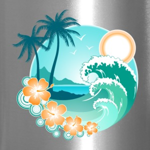 Hawaiian Island 1 Bottles & Mugs - Travel Mug