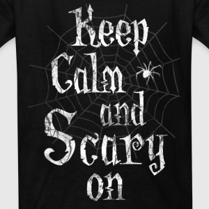 Keep Calm Scary Halloween Kids' Shirts - Kids' T-Shirt