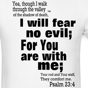 Psalm 23 - Men's T-Shirt