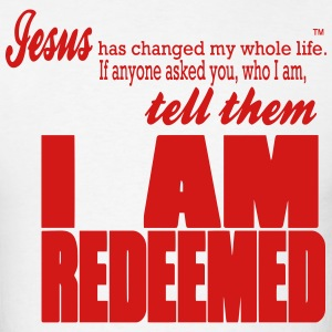 I AM REDEEMED - Men's T-Shirt