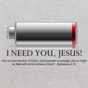 I Need You Jesus, Eph 3:19 - Kids' Hoodie