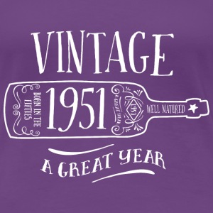 1952 Vintage Birthday - Women's Premium T-Shirt