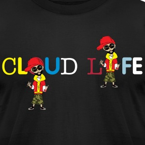 cloud life T-Shirts - Men's T-Shirt by American Apparel