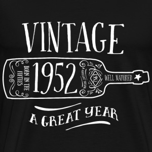 1952 Vintage Birthday - Men's Premium T-Shirt