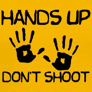 Hands up dont shoot - Men's Premium T-Shirt