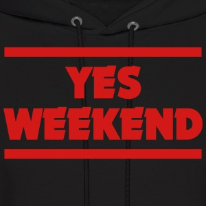 YES WEEKEND Hoodies - Men's Hoodie