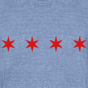 Chicago Shirt - Unisex Tri-Blend T-Shirt by American Apparel