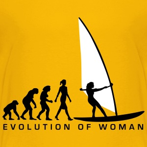 evolution_of_woman_windsurfing_092014_d_ Kids' Shirts - Kids' Premium T-Shirt