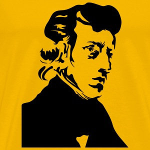 Fryderyk Chopin Portrait - Men's Premium T-Shirt
