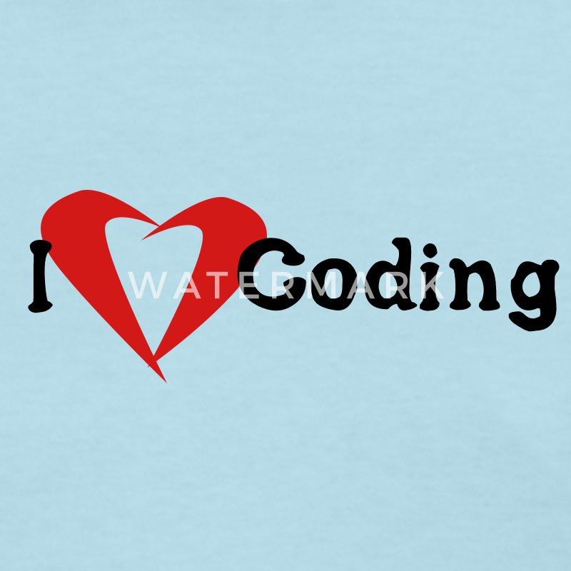 I Love Coding - Women's T-Shirt