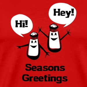 Seasons Greetings - Men's Premium T-Shirt