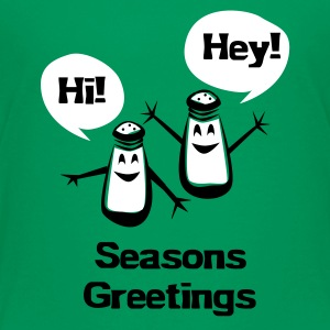 Seasons Greetings - Kids' Premium T-Shirt