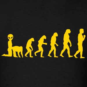Alienevolution - Men's T-Shirt