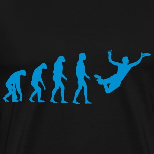 Ultimate Frisbee Evolution T-Shirts - Men's Premium T-Shirt