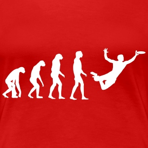 Ultimate Frisbee Evolution Women's T-Shirts - Women's Premium T-Shirt