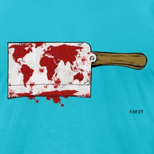 Violent World T-Shirts - Men's T-Shirt by American Apparel