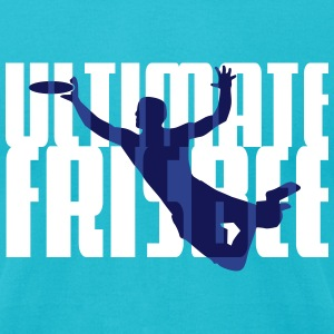 Ultimate Frisbee T-Shirts - Men's T-Shirt by American Apparel