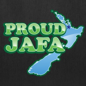 proud jafa funny with New Zealand map Bags & backpacks - Tote Bag