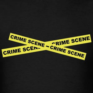 Crime Scene Tape T-Shirts - Men's T-Shirt