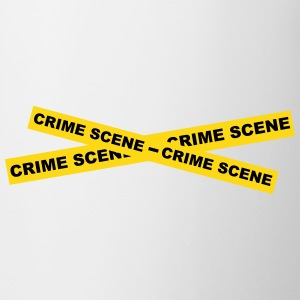 Crime Scene Tape Bottles & Mugs - Coffee/Tea Mug