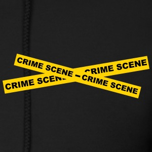 Crime Scene Tape Zip Hoodies & Jackets - Men's Zip Hoodie