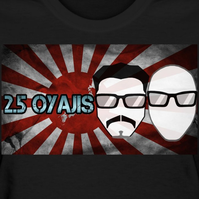 2.5 Oyajis Flag Shirt (Lady's)