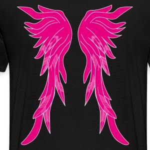 Pink Wings T-Shirts - Men's Premium T-Shirt