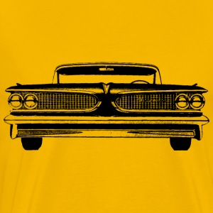 Front Of a vintage car - Men's Premium T-Shirt