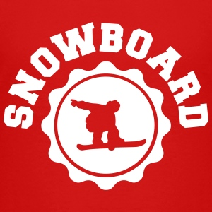 Snowboard university Baby & Toddler Shirts - Toddler Premium T-Shirt