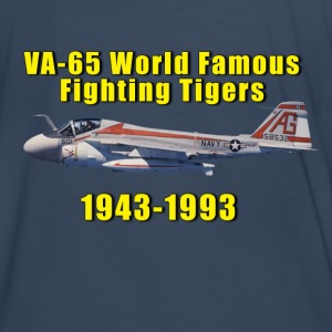 VA-65 World Famous Fighting Tigers A-6 Tribute - Men's Premium T-Shirt