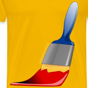 Paint Brush - Men's Premium T-Shirt