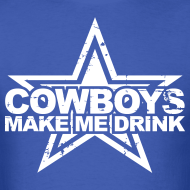 Design ~ Boys Make Me Drink Shirt