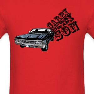 Carry On My WayWard Son T-Shirts - Men's T-Shirt