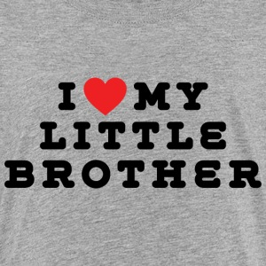 I Love My Little Brother - Kids' Premium T-Shirt