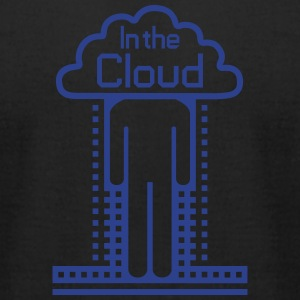 In the Cloud T-Shirts - Men's T-Shirt by American Apparel