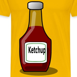 Ketchup bottle - Men's Premium T-Shirt