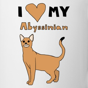 i love my abyssinian Drinkware - Coffee/Tea Mug