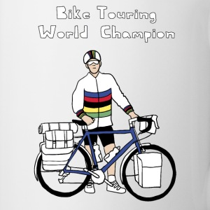 Bike Touring World Champion Drinkware - Coffee/Tea Mug