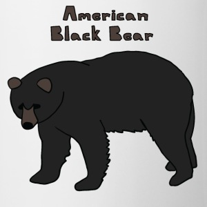 american black bear Bottles & Mugs - Coffee/Tea Mug