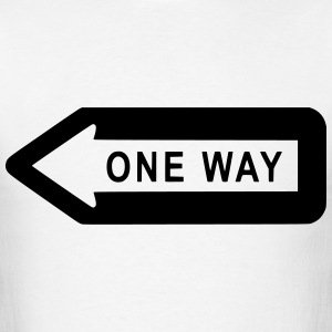 One Way T-Shirts - Men's T-Shirt