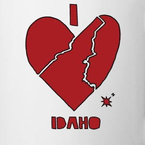 i heart Idaho (red) Bottles & Mugs - Coffee/Tea Mug