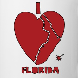 i heart Florida (red) Bottles & Mugs - Coffee/Tea Mug