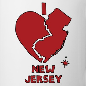 i heart New Jersey (red) Bottles & Mugs - Coffee/Tea Mug
