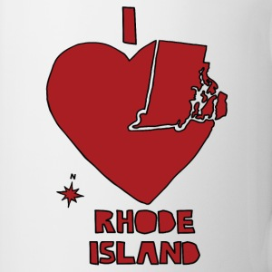 i heart Rhode Island (red) Bottles & Mugs - Coffee/Tea Mug