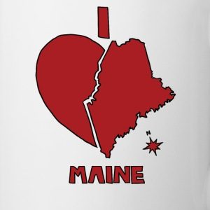 i heart Maine (red) Bottles & Mugs - Coffee/Tea Mug