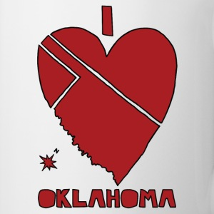 i heart Oklahoma (red) Bottles & Mugs - Coffee/Tea Mug
