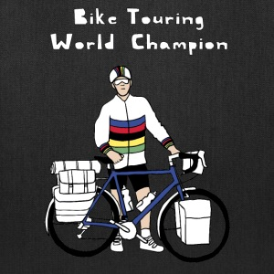 Bike Touring World Champion Bags & backpacks - Tote Bag