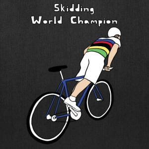 skidding world champion Bags & backpacks - Tote Bag